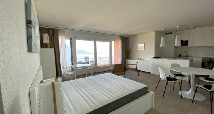 Beau studio meublé avec grand balcon et magnifique vue ! image 4