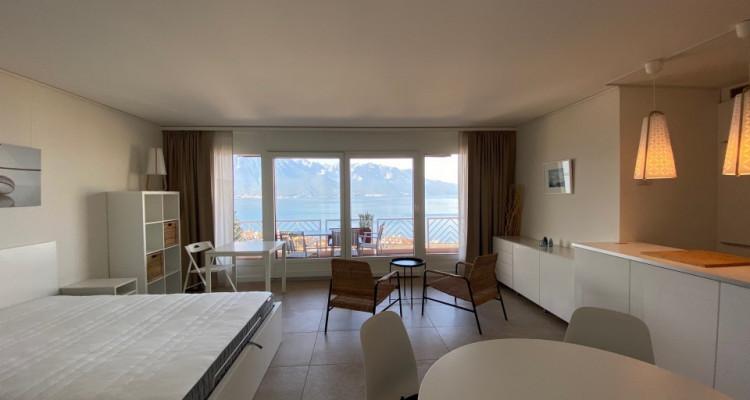 Beau studio meublé avec grand balcon et magnifique vue ! image 5
