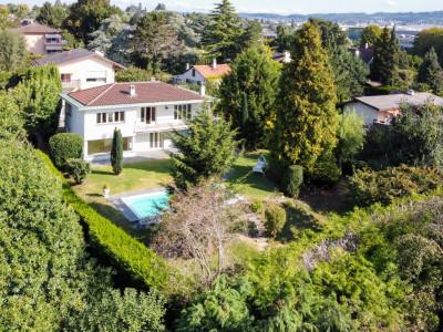 Grande villa individuelle avec piscine à Ecublens image 1
