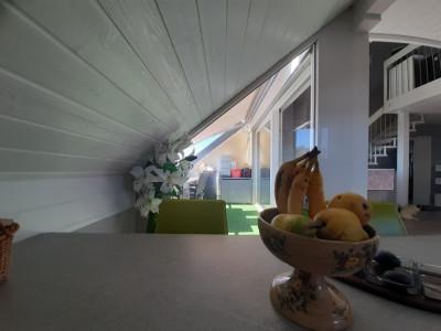 Duplex en attique de 3 pièces à la campagne image 1
