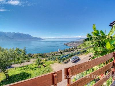 Villa individuelle avec piscine et vue sur le lac à 5 min de Montreux image 1