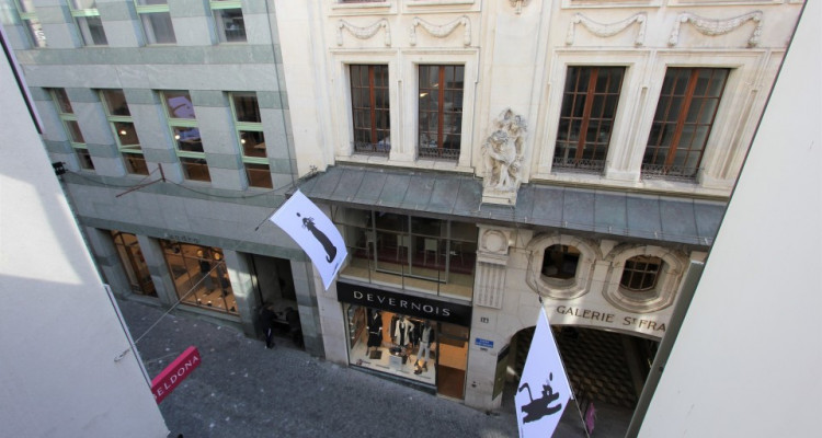 Local commercial à louer au centre de Lausanne (Rue de Bourg) image 4