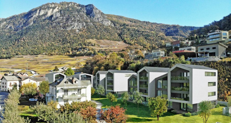 FOTI IMMO - Appartement de 3,5 pièces avec terrasses. image 1