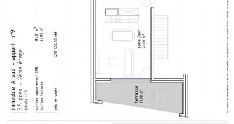 FOTI IMMO - Appartement de 3,5 pièces avec terrasses. image 5
