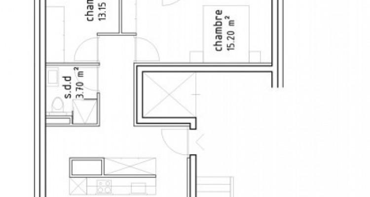 FOTI IMMO - Appartement de 3,5 pièces avec terrasses. image 6
