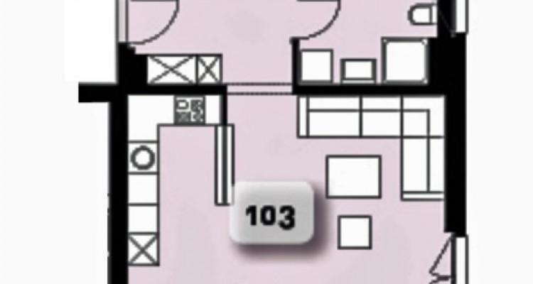 LOCATION-VENTE - Bel appartement neuf de 2,5 pièces avec balcon. image 5