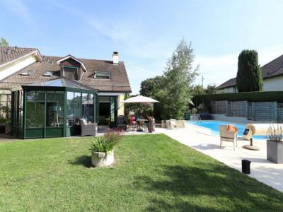 Belle maison jumelée avec piscine à Hermance image 1