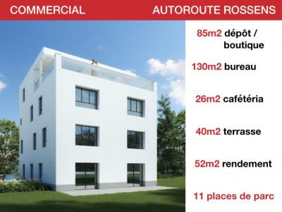 LOCAUX COMMERCIAUX - AUTOROUTE - DEPOT - BUREAU - ATTIQUE DE RENDEMENT image 1