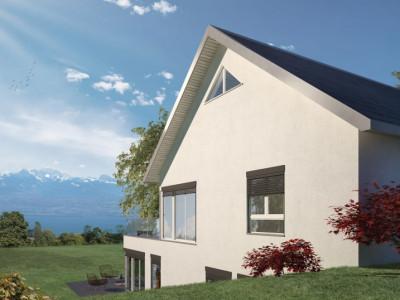 Superbe duplex de 3,5 pièces avec jardin et terrasse à Arzier image 1