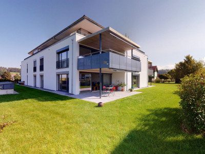 Moderne und hochwertige 3.5 Zi-Wohnung mit wertvollem Aussenbereich image 1
