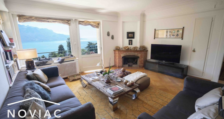 Luxueux 5.5 pièces avec balcon et vue plongeante sur le lac  image 1