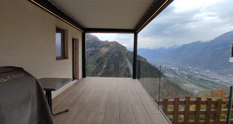 Superbe villa avec vue imprenable sur la vallée du Rhône image 4