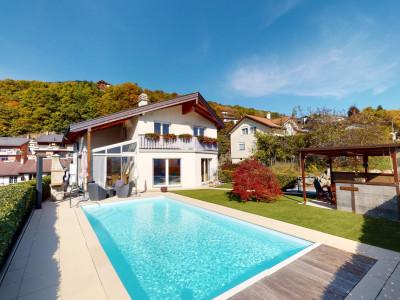 Superbe maison avec piscine et vue imprenable à Savièse image 1