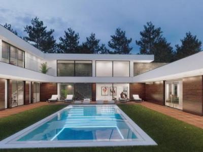 Villa ultra-moderne sur terrain de golf à Lisbonne, Portugal image 1