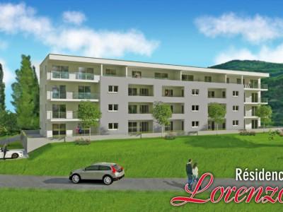 LOCATION VENTE - Appartement de 3,5 pièces avec jardin. image 1