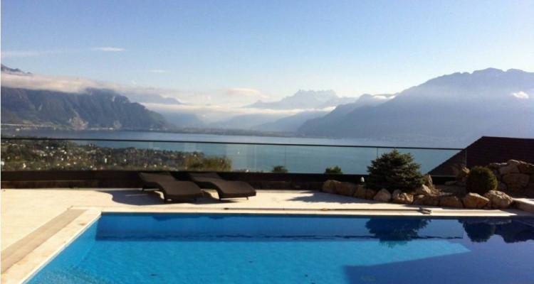 Spacieuse villa avec piscine, vue imprenable sur le lac image 1
