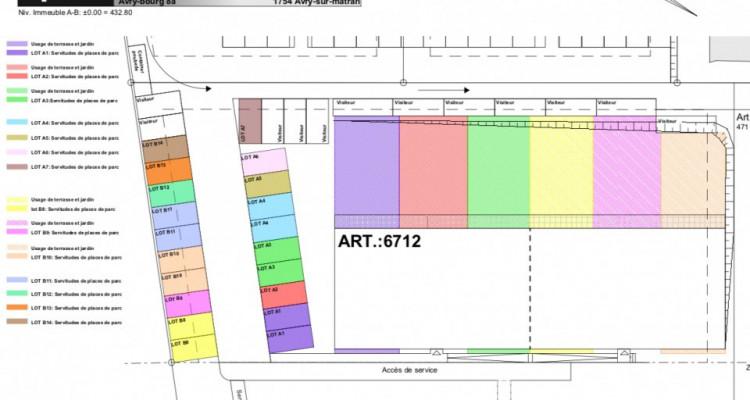 74 m2 de jardin privé pour ce 3,5  traversant ! image 5