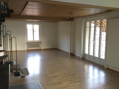 Magnifique duplex 4,5p // 3 chambres // 2 SDB // Jardin - Balcon image 1