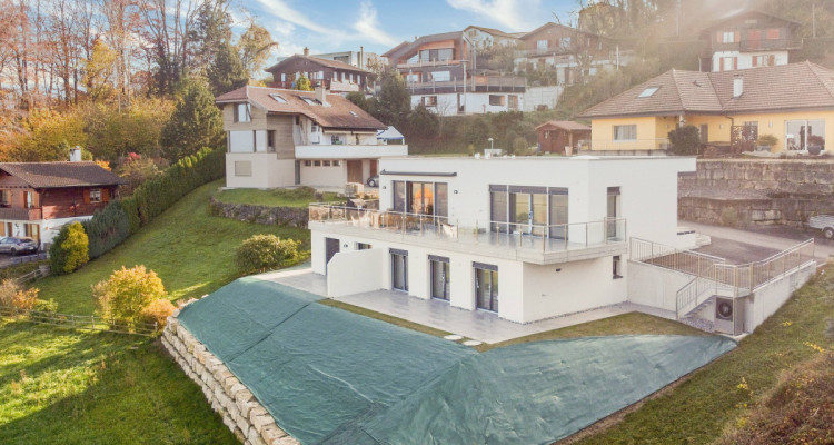 EN EXCLUSIVITÉ - Villa mitoyenne avec vue exceptionnelle sur le lac image 3
