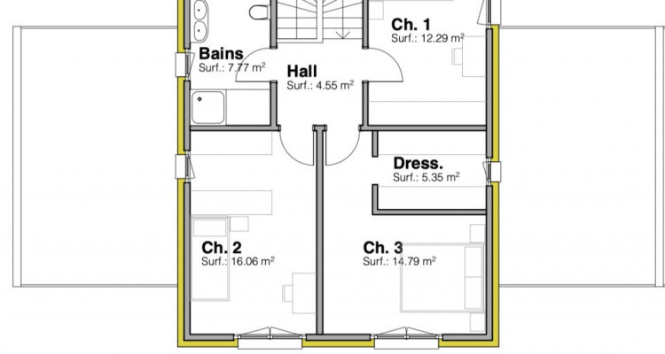 Permis de construire délivré - Nouvelle promotion de 3 villas individuelles à Rueyres-St-Laurent image 12