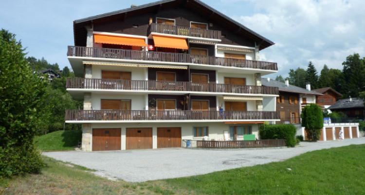 Situation :<BR> A 5 minutes à pied du centre du village et à 10 minutes des remontées mécaniques, avec magnifique vue sur le village et sur les Alpes Bernoises.<BR> Résidence secondaire<BR> Meublé<BR> image 1