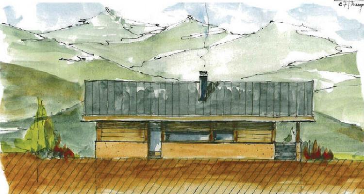 Situation :  Chalet individuel situé au lieu-dit Roches-Hombes avec ensoleillement maximal, grande tranquilité et magnifique vue sur la Vallée du Rhône, le Val dAnniviers et le Crêt image 3