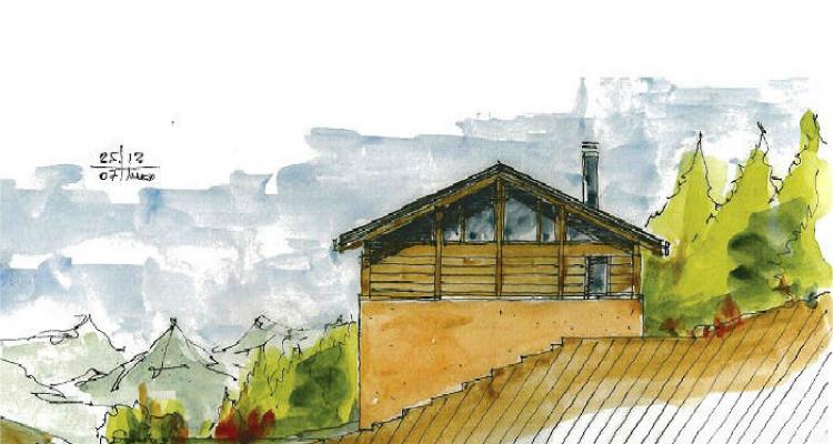 Situation :  Chalet individuel situé au lieu-dit Roches-Hombes avec ensoleillement maximal, grande tranquilité et magnifique vue sur la Vallée du Rhône, le Val dAnniviers et le Crêt image 4