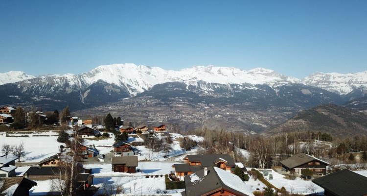 Chalet neuf en madrier massif vue imprenable sur les Alpes Bernoises - R2 image 12