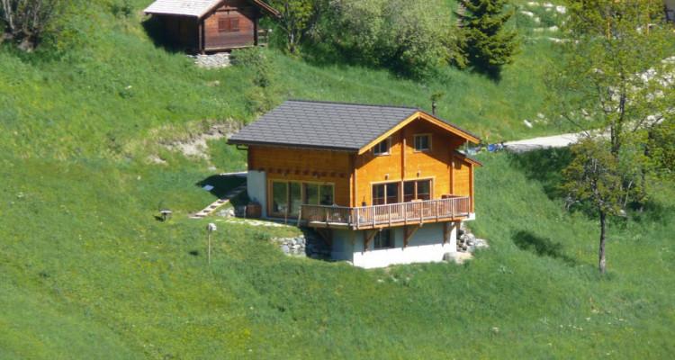 Magnifique chalet avec vue imprenable sur le Weisshorn et les Diablons - Résidence secondaire image 1
