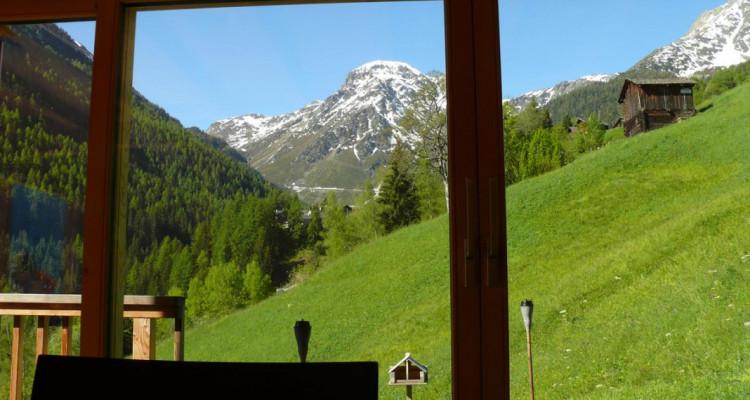 Magnifique chalet avec vue imprenable sur le Weisshorn et les Diablons - Résidence secondaire image 4