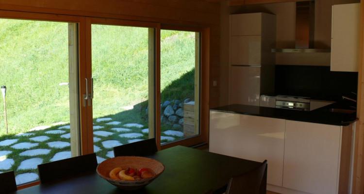 Magnifique chalet avec vue imprenable sur le Weisshorn et les Diablons - Résidence secondaire image 5