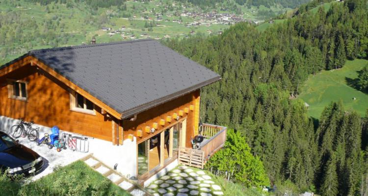 Magnifique chalet avec vue imprenable sur le Weisshorn et les Diablons - Résidence secondaire image 7