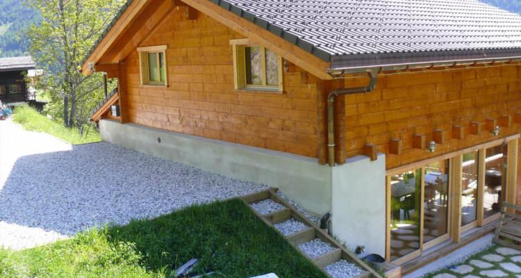 Magnifique chalet avec vue imprenable sur le Weisshorn et les Diablons - Résidence secondaire image 13
