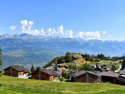 Joli duplex 3.5 pièces avec vue panoramique sur le village de Nax et les Alpes Bernoises image 1