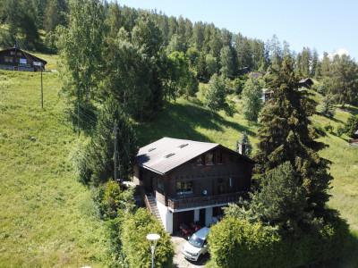 Attique avec jardin privatif à env. 5 minutes de pistes de ski de Nax. R2 ou principale image 1