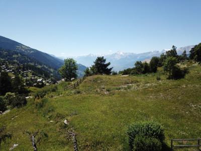 Parcelle (résidence principale) plein sud avec vue imprenable sur le val dAnniviers, Crêt du Midi et vallée du Rhône image 1