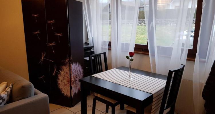 Beau studio 1.5 pièces / jardin collectif et potager privé image 3
