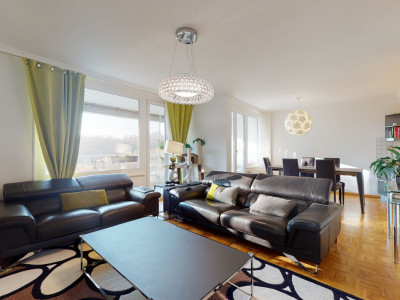 Appartement de 3.5 pièces avec vue et au calme à Belmont-sur-Lausanne image 1