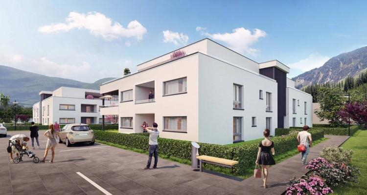Appartement 3.5 pièces neuf 92 m2 avec parking souterrain à Vétroz image 2
