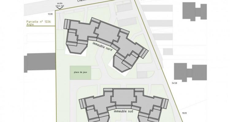 Charmant 2,5 pièces avec grand balcon à Aigle  / D05 SUD image 6
