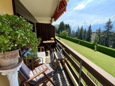 Magnifique appartement de 3.5 pièces / vue lac et montagne / calme image 1
