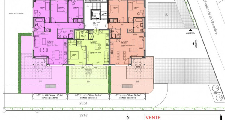 Appartement avec terrasse à vendre 4.5 pièces à Vouvry image 9