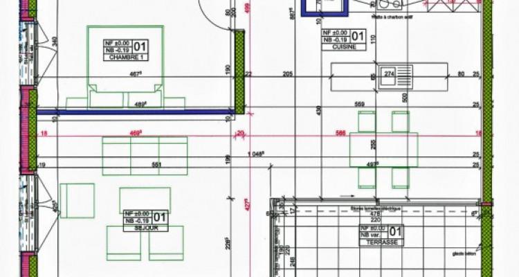 FOTI IMMO - Bel appartement de 3,5 pièces + 65 m2 de terrasse/jardin. image 7