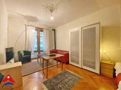 3D // Superbe appartement 2,5 p / 1 chambre / 1 SDB / centre-ville image 1