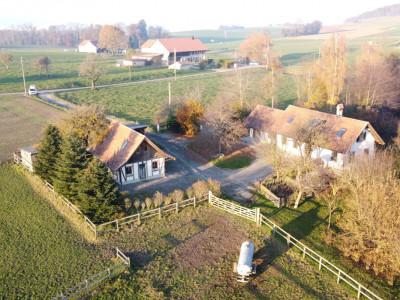 Magnifique maison de charme avec vaste terrain agricole et écurie image 1