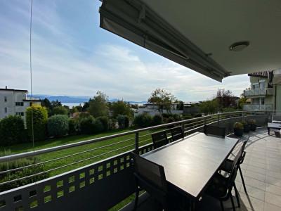 Magnifique appartement meublé de 4,5 pièces - Terrasse - Vue lac image 1