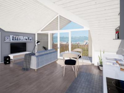 Attique avec une grand balcon plein sud image 1