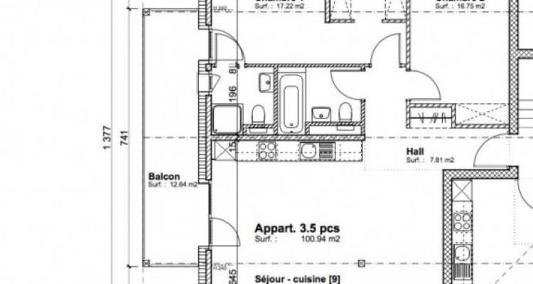 Attique avec une grand balcon plein sud image 2