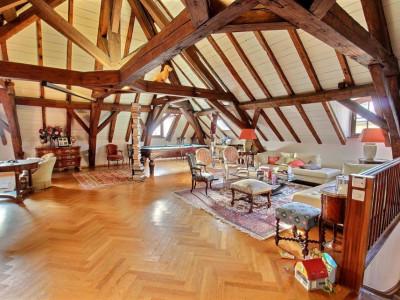 Vue et standing pour ce magnifique appartement en duplex à Satigny image 1