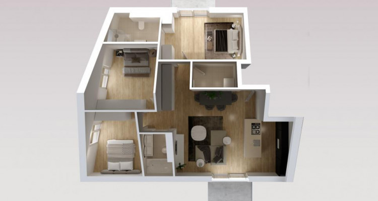 Magnifique attique neuf à Bogis-Bossey ! image 8